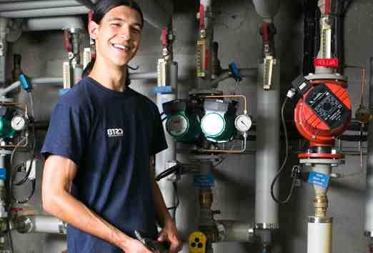 Quel est le salaire moyen d'un plombier?
