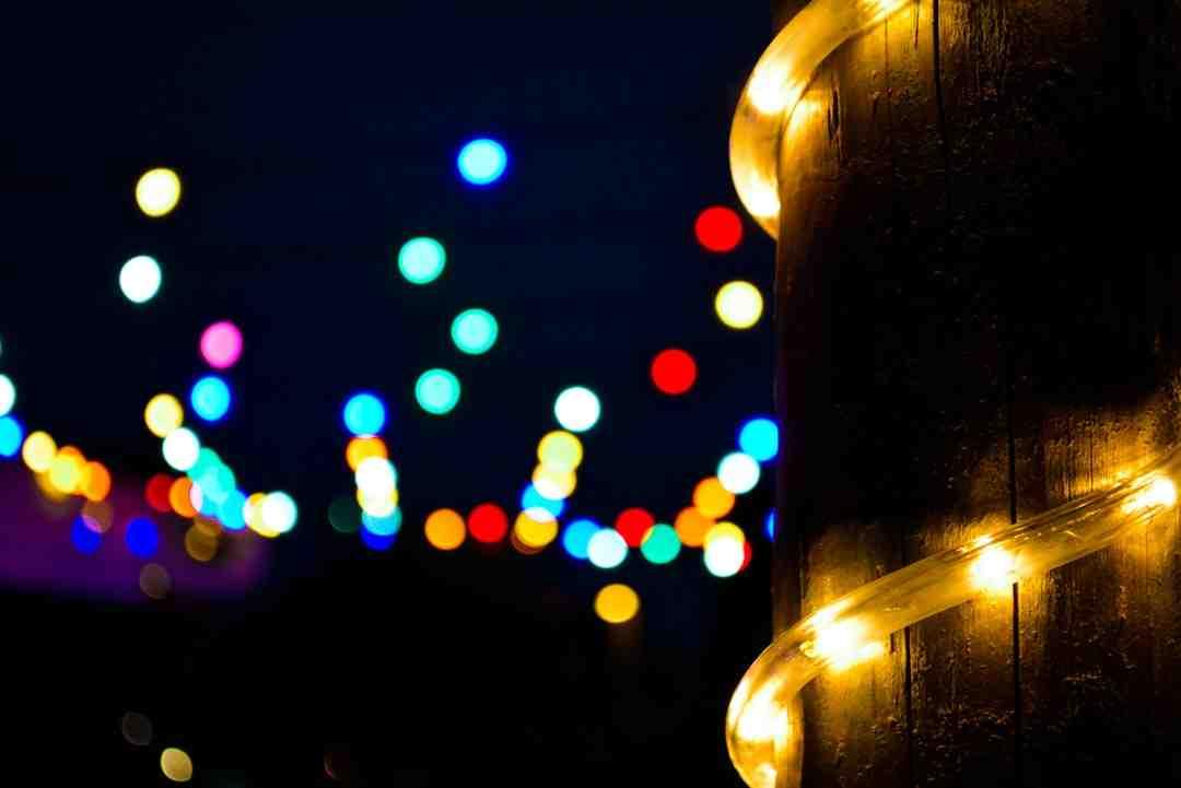 Comment réparer des lumières de Noël ?